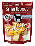 Cheap Smart Bones 5 Count Play Time Chicken Dog Chew, Medium by Smartbone