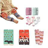 Baby Leg Warmers Leggings Knee pads socks for Toddler (pack of 10 pairs)