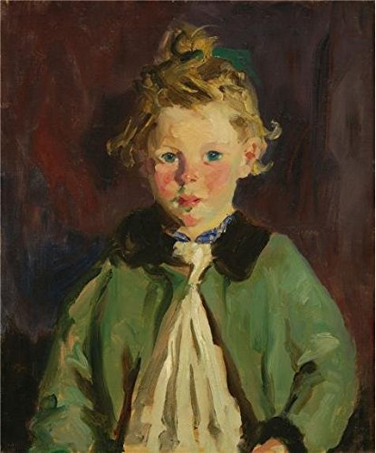 Oil Painting 'Robert Henri,The Green Sacque,1927' Printing On Perfect Effect Canvas , 8x10 Inch / 20x25 Cm ,the Best Kids Room Gallery Art And Home Decoration And Gifts Is This High Definition Art Decorative Prints On Canvas
