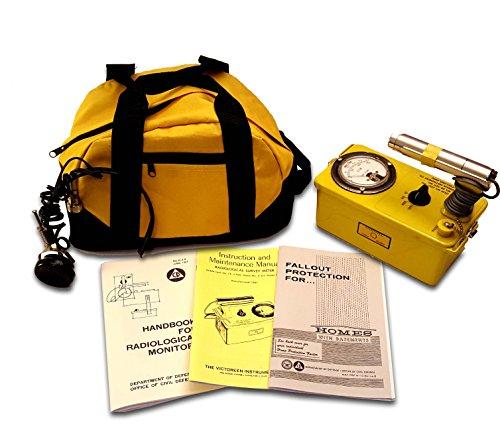 EMP Proof / Resistant - Victoreen 6 CDV-700 Geiger Counter - Radiation Detector - Near Mint/Restored