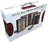 art-101-all-media-artist-painting-drawing-set-162-pieces-colored-pencils-gift-4