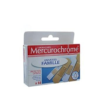 Mercurochrome Universel Famille 50 Pansements  Amazon.fr  Hygiène et ... 4f3df1a7a02a