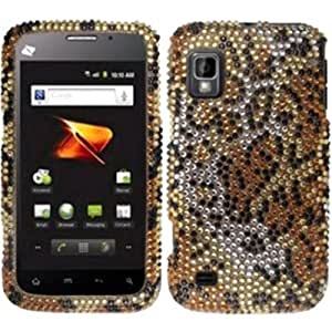 Full Diamond Design Case Cover For ZTE Warp N860 - Cheetah Diamond