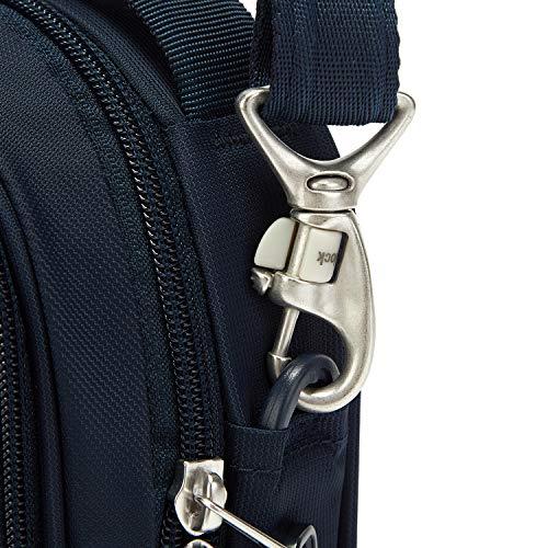 51mOcOCX1mL - Pacsafe Metrosafe Ls100 3 Liter Anti Theft Shoulder Bag - Fits 7 Inch Tablet