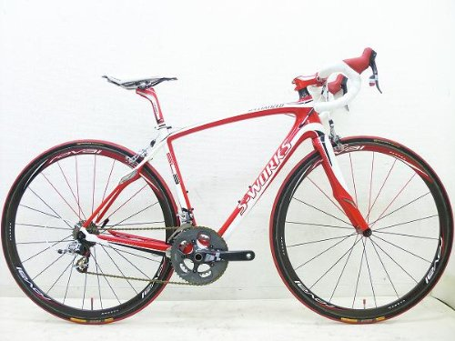 ロードバイク (SPECIALIZED) S WORKS ルーベSL3 RED B00IMUU4S8