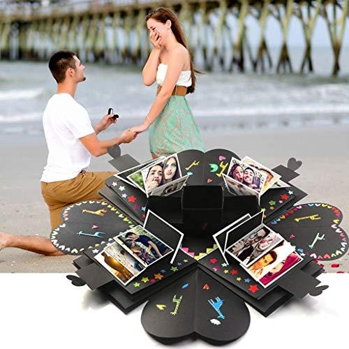 AIUSD Clearance , Explosion Box Creative Surprise Box Handmade with Guide Photo Album