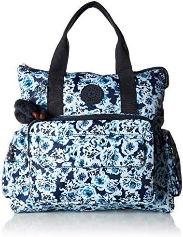 Kipling Women s Alvy 2-in-1 Convertible Tote Bag Backpack, Wear 2 Ways, Zip Closure