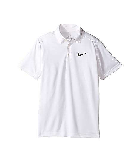 Nike B Nk Dry Polo de Manga Corta de Tenis, Niños: Amazon.es ...