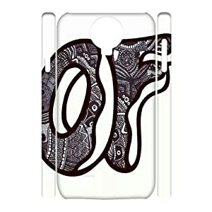Lycase(TM) Odd Future Custom Durable Hard Back 3D Plastic Case, DIY Odd Future SamSung Galaxy S4 I9500 3D Case