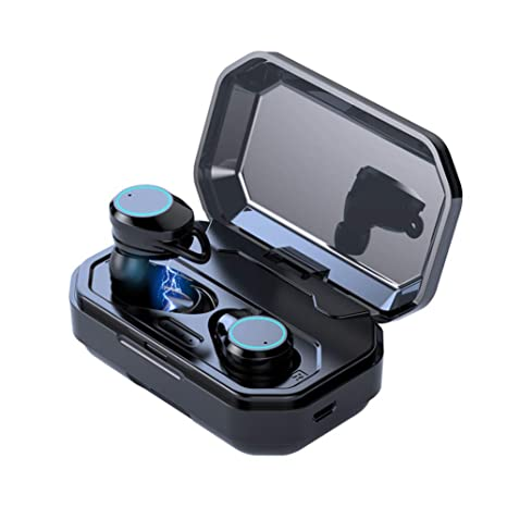 X6 TWS Auriculares Bluetooth 5.0, Auriculares Bluetooth Inalámbricos Verdaderos Auriculares Inalámbricos de Control Táctil HiFi
