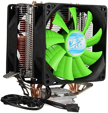 Tutoy 3 Pines Ventilador Dual CPU Cooler Disipador De Calor para ...