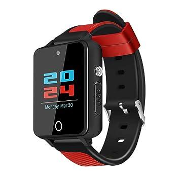 S9 de Dos Colores watchstrap Sqaure Android Reloj Inteligente de 1,54 Pulgadas de Alta definición de Pantalla táctil Bluetooth 4.0 Reloj de Pulsera Sunlera: ...