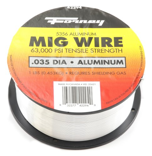 Forney 42294 Mig Wire, Aluminum Alloy ER5356.035-Diameter, 1-Pound Spool by Forney (Image #2)
