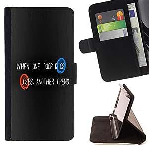 BullDog Case - FOR/LG G2 D800 / - / Portal One Door /- Monedero de cuero de la PU Llevar cubierta de la caja con el ID Credit Card Slots Flip funda de cuer