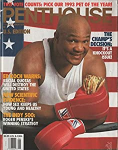 Pemthouse 1992 June - George Foreman