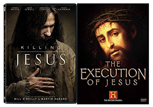 Death of Jesus Bundle - Killing Jesus Motion Picture & The Execution of Jesus Documentary 2-DVD Set