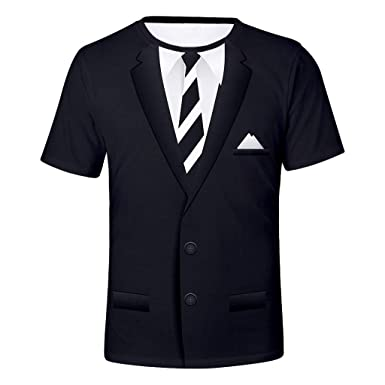 SHJIRsei Camiseta para Hombre,Camiseta de Manga Corta ...