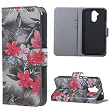 For Acer Liquid Z410 Cell Phone Cases Case Beautifull PU Wallet Protective Shell Covers Flower Amaxy