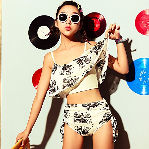 YUPE Von heißer Frühling Badeanzug mode Bademode Frauen hohe Taille bikini Bademoden ferienhäuser strand