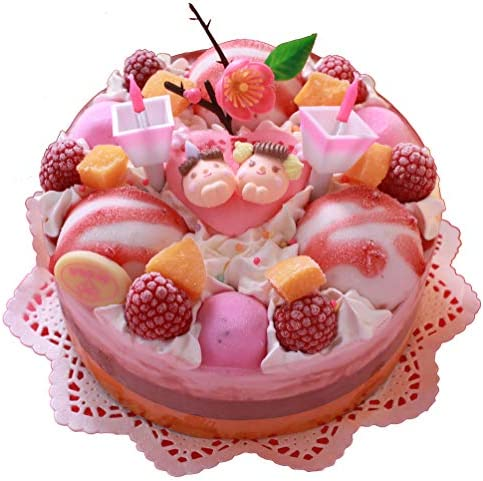 【おひなさまギフト】2020おひなさまアイスケーキ/15cm