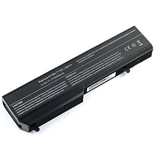 Bay Valley Parts DELL 451-10655 K738H N950C T112C T114C T116C U661H High Capacity Battery for Vostro 1310 1320 1510 1511 1520 2510 [Li-ion 6-cells 11.1V 5200mAh] (Type K738h compare prices)