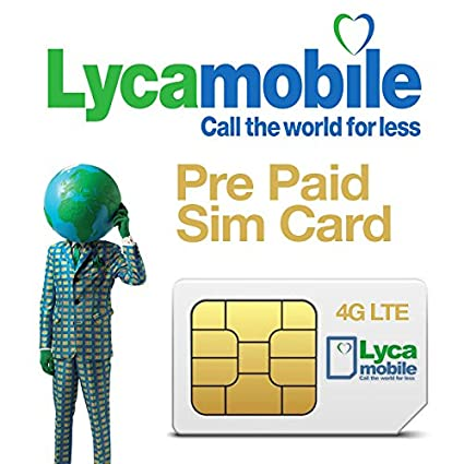 Lyca Mobile Australia SIM Card Unlimited Plans: Amazon in