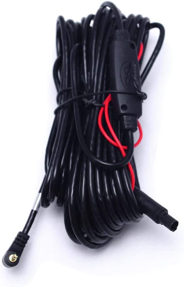 10 m DVR-Kamera Auto Backup-Kamera 2,5 mm TRRS-Klinkenstecker auf 5-poligen Video-Verl/ängerungskabel f/ür LKW//Van XuBa R/ückfahrkamera-Verl/ängerungskabel 5-poliger Stecker