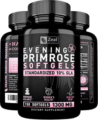 Evening Primrose Capsules Liquid Softgels product image