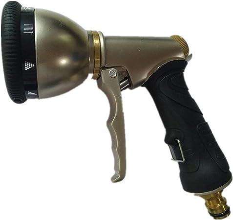 Pistola para Manguera de riego para el jardín Pistola de agua Suministros de jardín Cabezal de