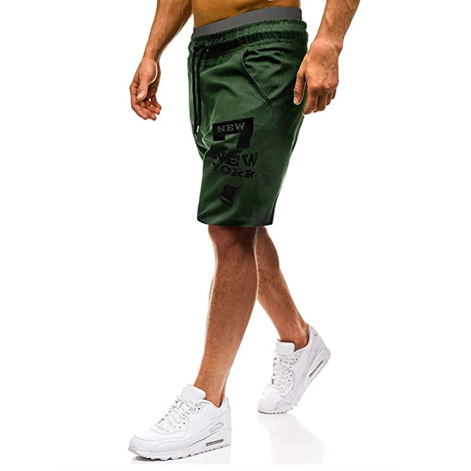 8fb385dfcb Men Pants Daoroka Casual Comfy Elastic Waist Pocket Drawstrintg 2018 ...
