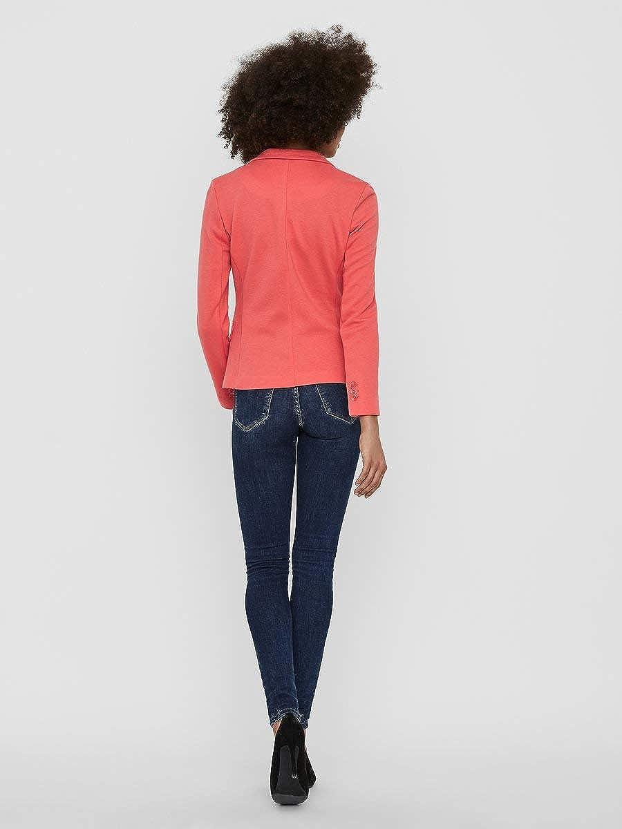 Vero Moda Vmjulia Ls Blazer DNM Color Femme