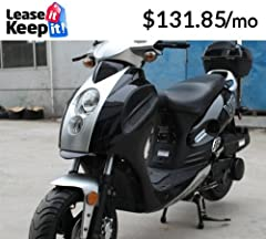 Engine: Engine Size: 4-Stroke, Single Cylinder, 149cc cc Start Type: Electric with keys & Kick Start Back Up Transmission: CVT Fully Automatic Drive: Belt HP: 10 Cooling: Forced Air Cooling Ignition: CDI Electronic Top Speed: 55+ MPH appr...