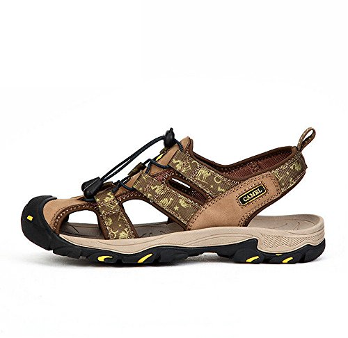 RV Size 42 EU Sandal Camel Color M Closed Mens Green Toe Performance 5w1qT87