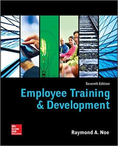 employee training development irwin management