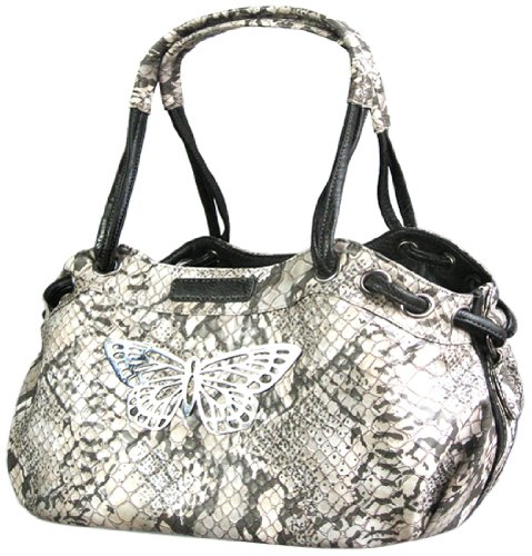 Backbone Faux Snake Leather Pet Carrier (Faux Leather Pet Carrier)