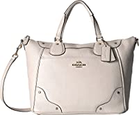 COACH Womens Grain Leather Mickie Satchel from COACH