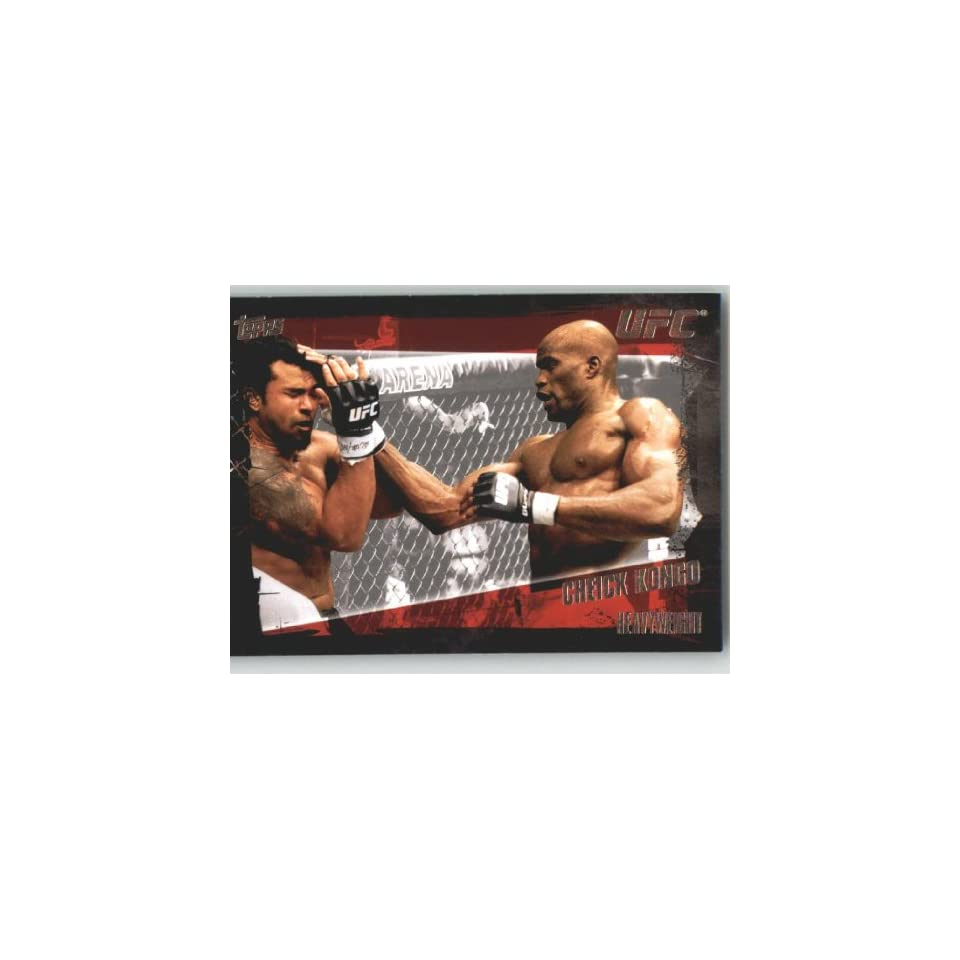 2010 Topps UFC Trading Card # 56 Cheick Kongo (Ultimate