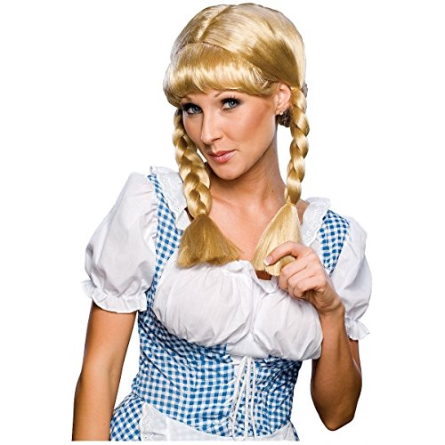 [Cowgirl Wig Costume Accessory] (Gothic Ballerina Halloween Costumes)
