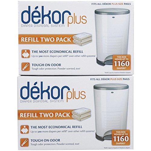 - Diaper Dekor Plus Refill - 2 ct - 2 pk