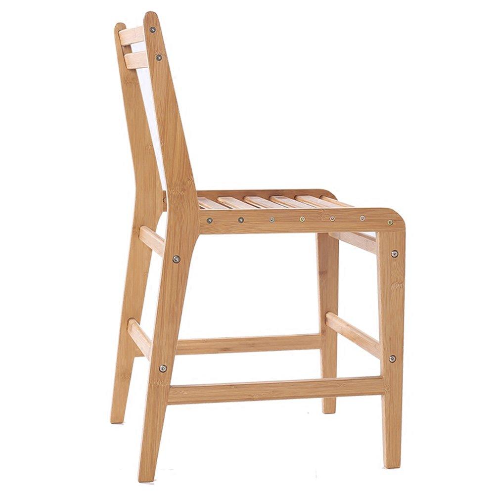 ダイニングチェア チェア Chair ッション バックレストファッションワイルドクリアラインデスクシンプルなソリッドウッドコーヒーカジュアル TINGTING (色 : ウッド うっど) B07FBCTRG7ウッド うっど