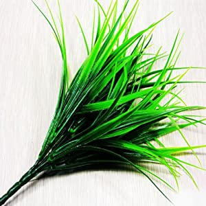 Nyalex Green Plant Leaves Grass Decorative Flowers Artificial Flowers For Home Decoration Artificial Grass 51