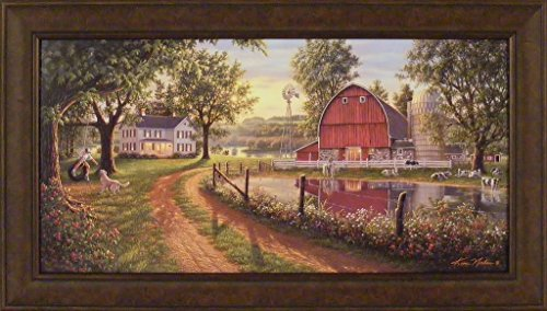 Country Framed Prints - 9