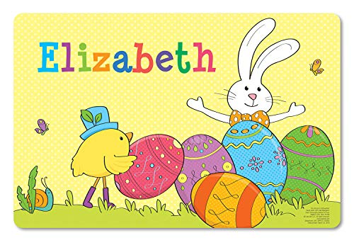Personalized Custom Table Placemat for Kids | Craft Mat | Easter ()