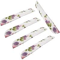 Colcolo 5pcs bolsa de abanico de mano plegable manga de abanico de mano chino de seda - Color 1