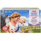 Static Eliminator Reusable Dryer Sheets - PurEcosheet - Chemical Free - 2 Count (500+ Loads)