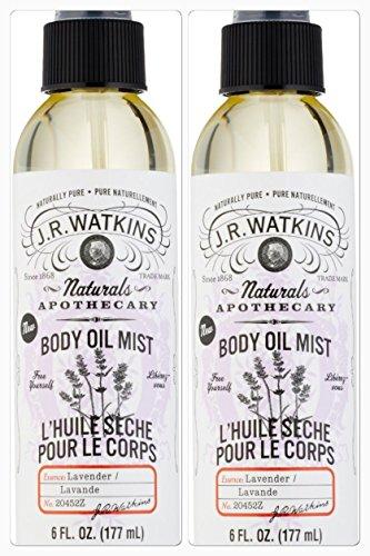 J.R. Watkins Lavender Body Mist 6 Oz. (Two Pack) (Cream Watkins Butter Shea Lemon)