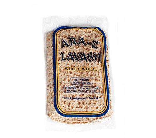 Ara-Z Lavash Whole Wheat (10-Pack) by Breadmasters