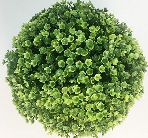 (Decorations Limit 100 Artificial 12cm Plants Boxwood Buxus Topiary Balls Grass Plant Chain Huckus Artificial Plants 20/25CM - (Size: 20CM, Color: Deep Sapphire))