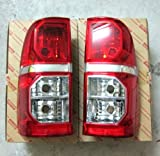 (US) Lh Rh Left Right Tail Back Rear Lights Toyota Hilux Vigo Champ 2011 2012 2013