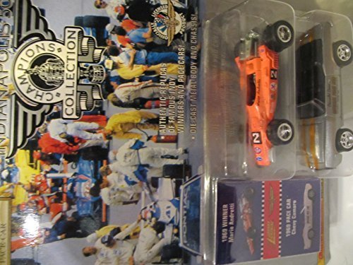 Johnny Lightning Indianapolis 500 Champions Collection Series 2: 1969 Winner Mario Andretti & Pace Car - Indy 500 Camaro Pace Car